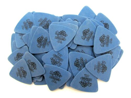 Dunlop Guitar Picks  72 Pack  Tortex Tri  1.0mm  431R1.00  Blue