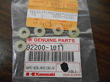 NOS Kawasaki OEM Nylon Washer ZX750 KR250 JL650 92200-1011 QTY5