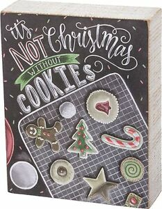IT-039-S-NOT-CHRISTMAS-WITHOUT-COOKIES-Wood-Box-Sign-5-5-034-x-6-034-Primitives-by-Kathy