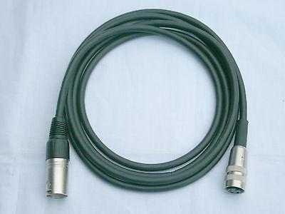 Tuchel Adapter Kabel Kleintuchel-XLR 2m Mikrofonkabel rot