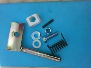 PZ haybob tine Holder and LH  tine fixing kit complete  with bushes and pin rh
