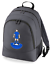 Football-TEAM-KIT-COLOURS-Leicester-Supporter-unisex-backpack-rucksack-bag miniatuur 5