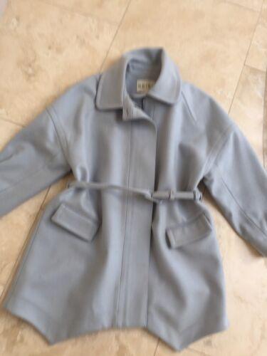Reiss Size Blue Coat S Light Wool Blend zqr5xzwX