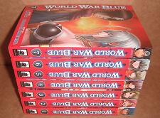 World War Blue  Vol.1,2,3,4,5,6,7 Manga Graphic Novels Set English