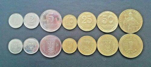 1 2 5 10 25 50 Kopiyok 1 Hryvnia aUNC 2006 Ukraine Annual Coin Set