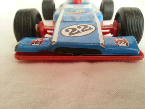 Rare Ancienne Voiture De Course F1 Formule1 A Friction Joustra Annees 60-70