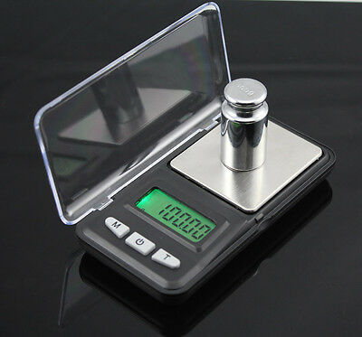 Portable 200g x 0.01g Mini Digital LCD Scale Jewelry Pocket Balance Weight Gram