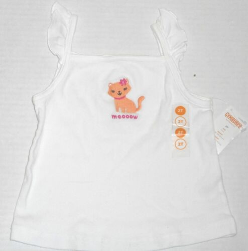 NWT Gymboree Girls Ice Cream Sweetie Meooow Kitten Tank Top Size 2T 3T /& 5T