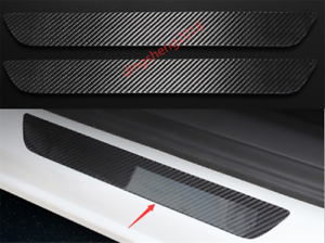 Black titanium Welcome Pedal Door Sill Scuff  Panel for Ford Explorer 2016 2017