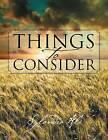 Things to Consider: Handbook for Life by Sylandra Ali (Paperback / softback, 2012)