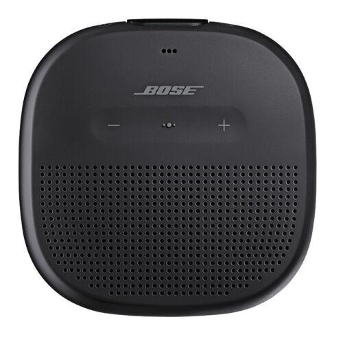 Black Bose SoundLink Micro Rugged Waterproof Bluetooth Speaker