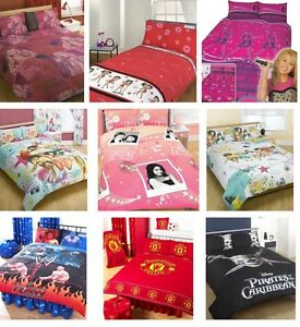 Image Is Loading Character Amp Disney Double Duvet Covers Kids Agers