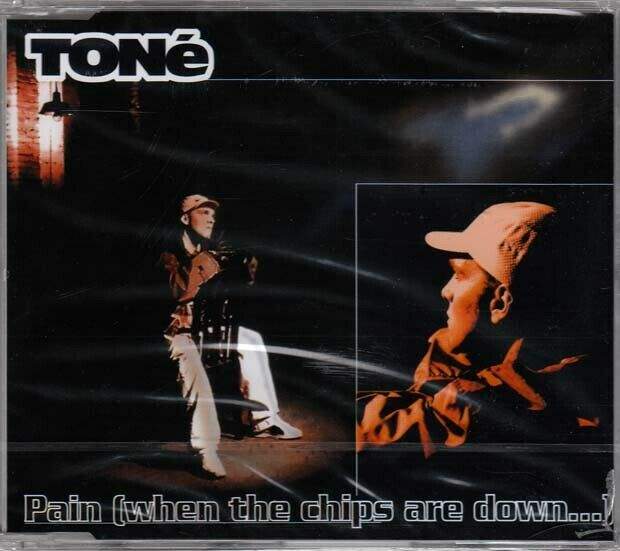 TONé Pain (When The Ships Are Down...) MCD 1997 NEUWARE IN FOLIE 90s Hip Hop Hit