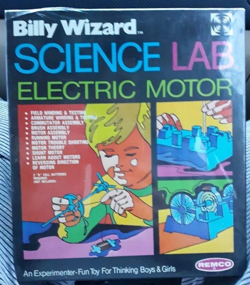 VINTAGE REMCO 1972 BILLY WIZARD SCIENCE LAB CHEMISTRY