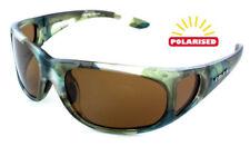 d7bd1af02f97 Eye Level Carp Sunglasses Polarized Brown Cat 3 UV400 Lenses With Side  shields