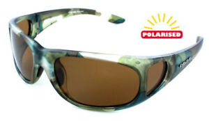 90d5bce48e1 Eye Level Carp Sunglasses Polarized Brown Cat 3 UV400 Lenses With ...