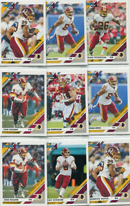 LOT-17-2019-DONRUSS-034-ALL-034-WASHINGTON-REDSKINS-JOHN-RIGGINS-DERRIUS-GUICE-B109