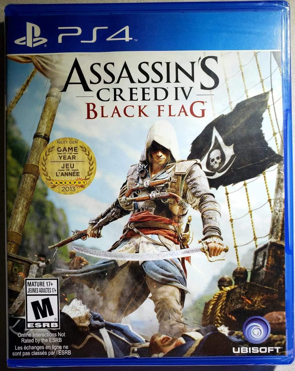 Assassin S Creed Iv Black Flag Ps4 For Sale Online Ebay