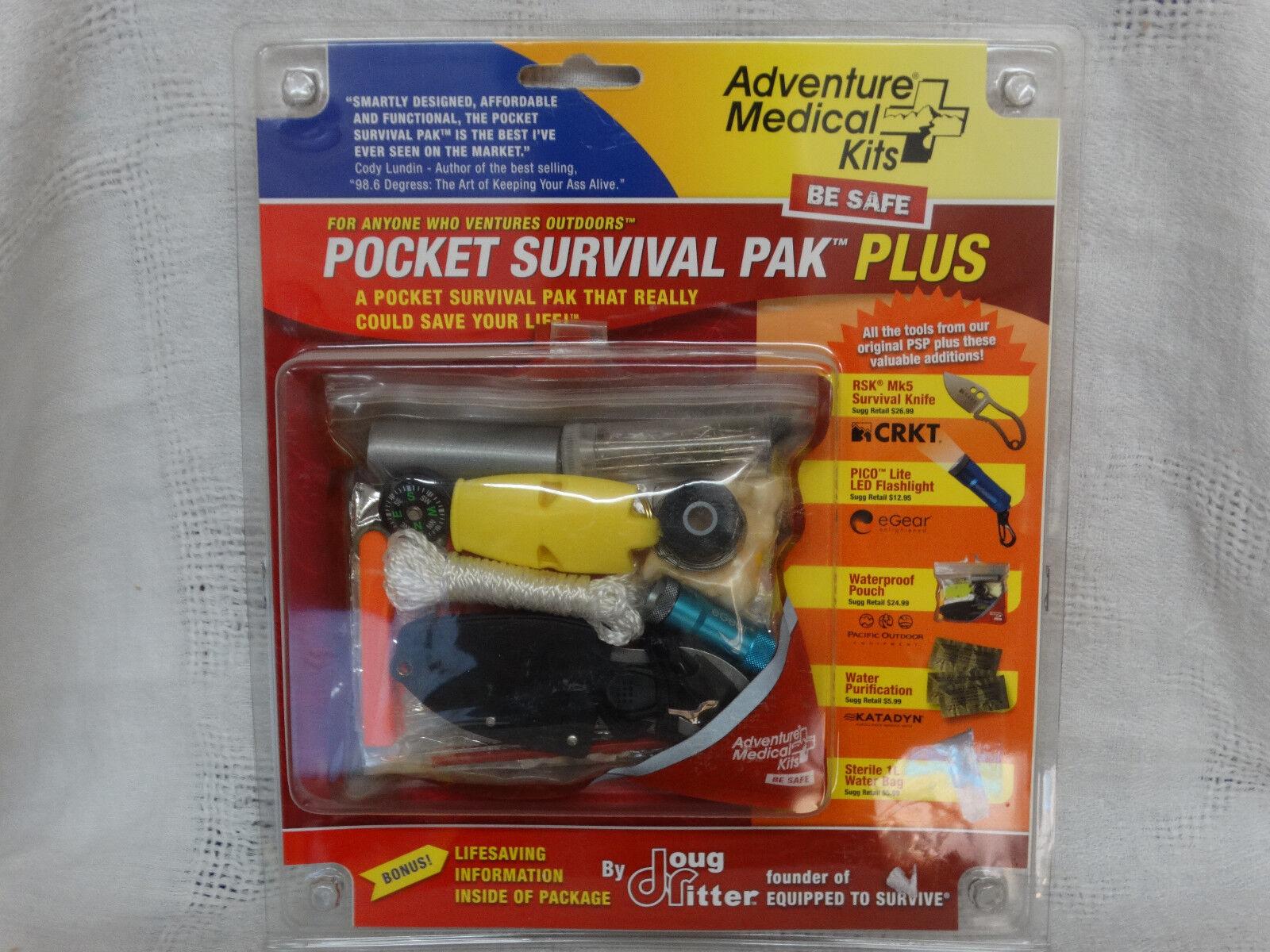 Adventure medical kits de súpervivencia de bolsillo PAK PLUS