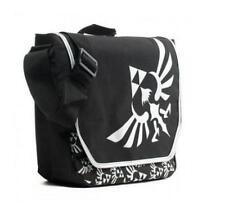 NWT nintendo ZELDA laptop MESSENGER shoulder Black book SCHOOL bag