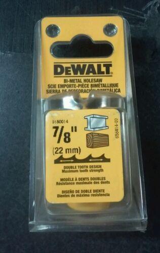 """DEWALT D180014 HOLE SAW 7//8/"""""""