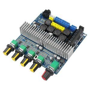 TPA3116D2-DC12V-24V-Bluetooth-4-2-Subwoofer-Audio-VerstaeRker-Karte-2-1-Kana-L2E3