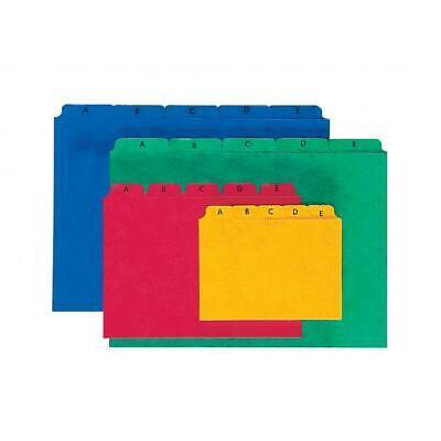 4013951002531 PAGNA Kartei-Leitregister A Z für Größe A5 quer blau