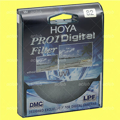 Genuine Hoya 82mm Pro1D Digital UV Filter