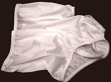 WOW~VANITY FAIR WHITE 15712/15812 PERFECTLY YOURS NYLON BRIEFS PANTIES~8/XL ~NEW