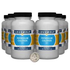 Potassium Chloride 3 Pounds 6 Bottles 99 Pure Food Grade Fine Powder