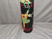 Wine Bottle Cardboard Tube Carrier - Fancy