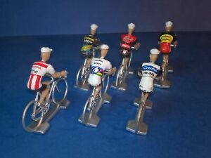 Lot-de-6-cyclistes-equipes-cyclo-cross-2019-2020-Veldcross-Wielrenners