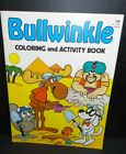 Bullwinkle And Rocky Vintage Coloring Activity Book Unused Dudley Do Right
