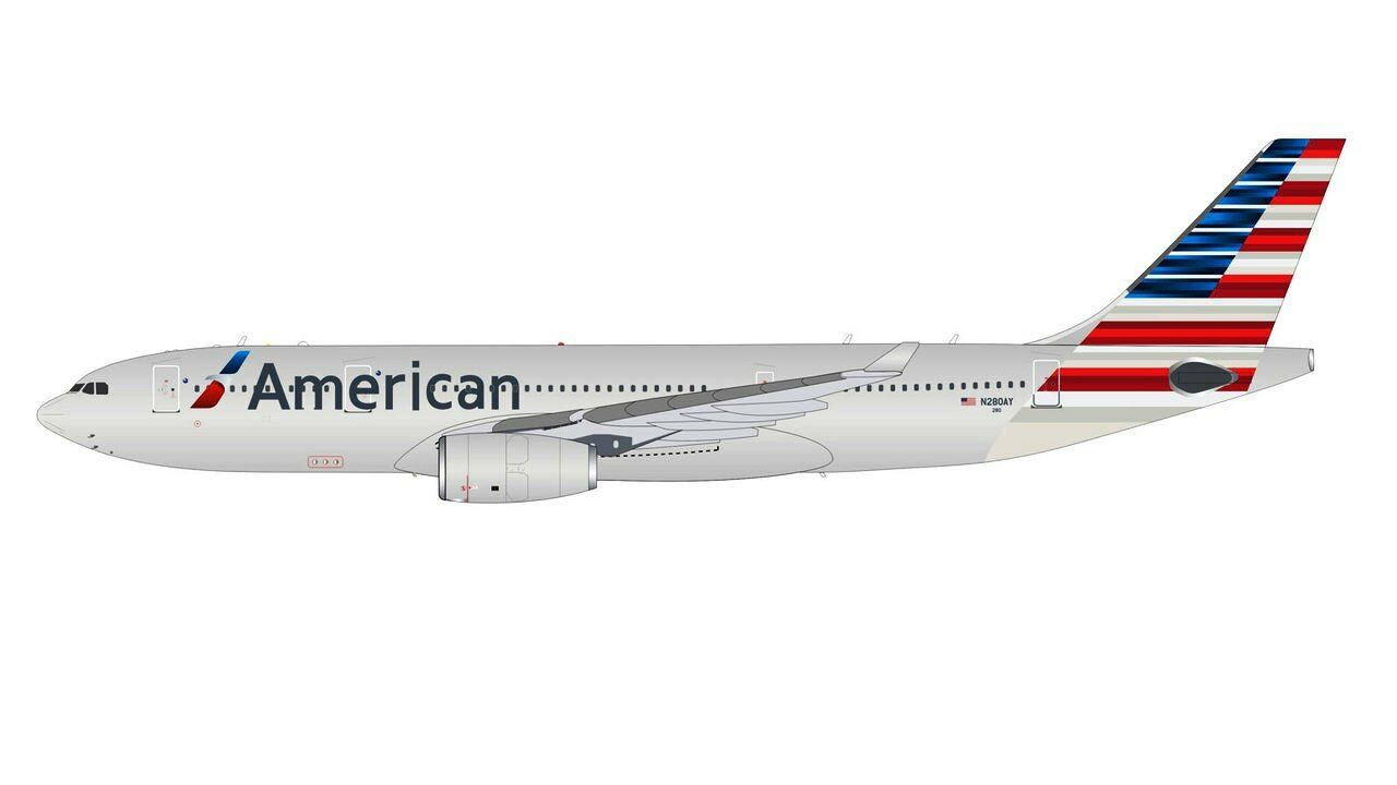 INFLIGHT 200 IF3320916 1 200 American Airlines A330-200 N280AY con supporto