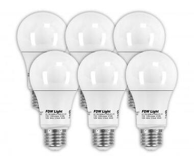 6-Pack 75W Equivalent A19 LED Light Bulb