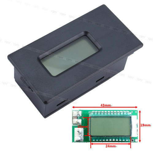 2.8 ~ 30V 18650 LCD Lithium Li-ion Battery Tester Meter Voltage Current Capacity