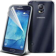 Ultra Delgada Transparente Tpu Gel Skin Funda Protectora + Film Lcd Para Samsung Galaxy S4 Neo