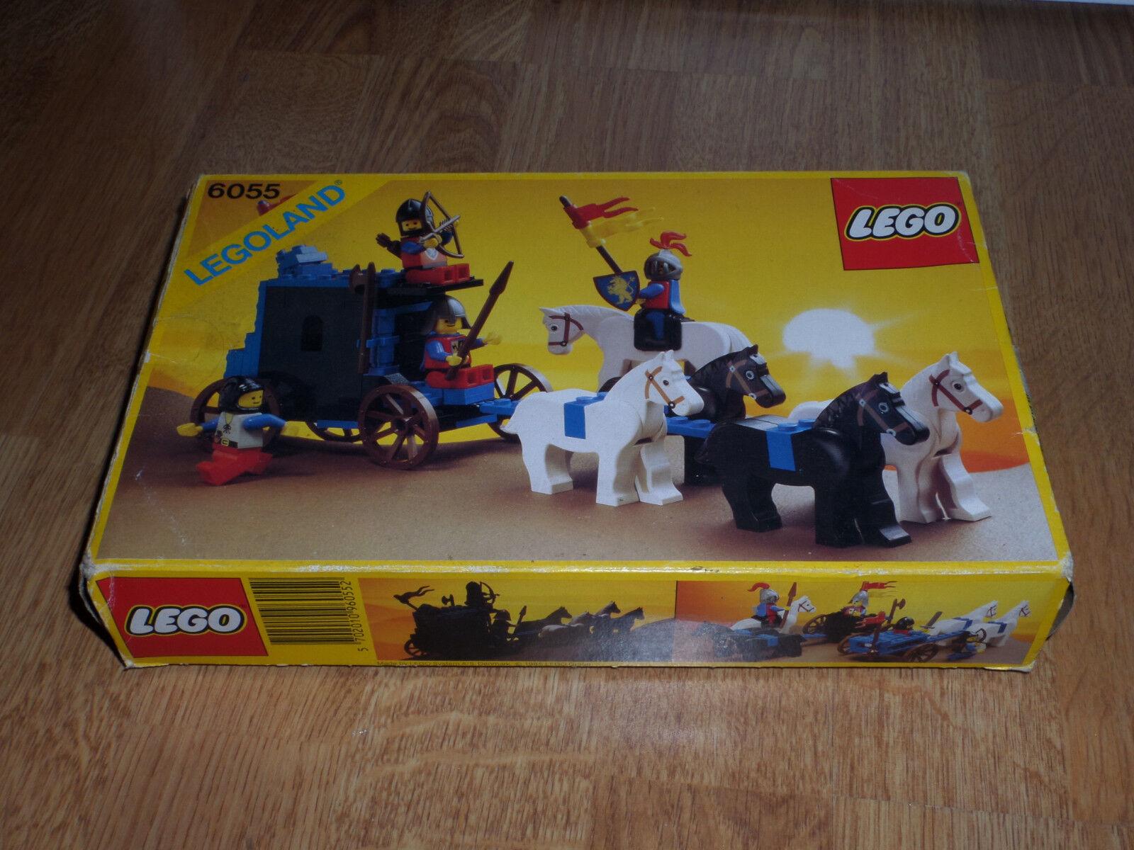 Lego 6055 100% complet avec instructions et boite pièces en très bon état (kg)xx
