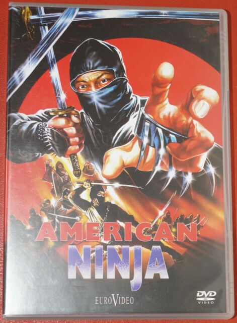 DVD - AMERICAN NINJA FSK 18 Neuwertig
