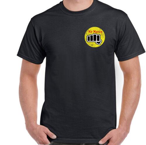 Miyagi Martial Arts Top Cobra Kai T-Shirt No Mercy Karate Kid Mens Inspired Mr