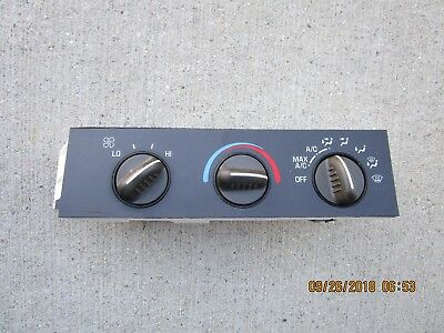02-07 CHEVY SAVANA 1500 2500 A//C HEATER CLIMATE TEMPERATURE CONTROL 25753628