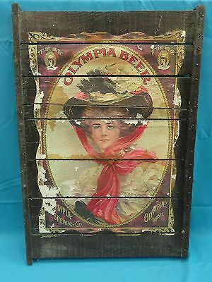Sign olympia beer gma.amritasingh.com: Tinworld
