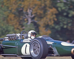 1967-Driver-JACK-BRABHAM-Glossy-8x10-Photo-Formula-1-US-Grand-Prix-Poster-Print