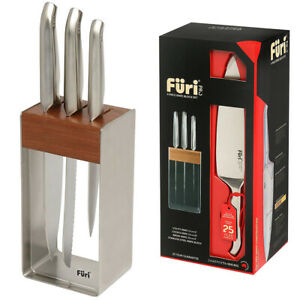 100-Genuine-FURI-Pro-4-Piece-Stainless-Steel-Knife-Block-Set-RRP-349-00