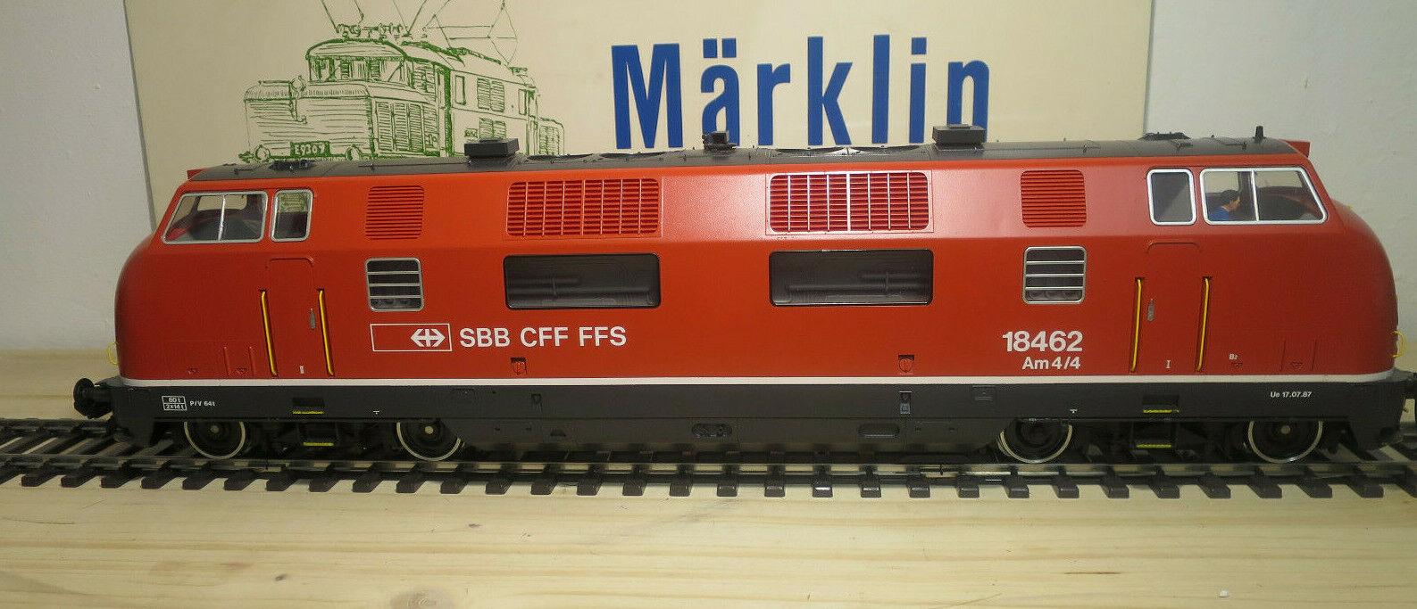 Märklin 1 Gauge 55801 Diesel Locomotive Series Am 4 4 18462 SBB Ex V200
