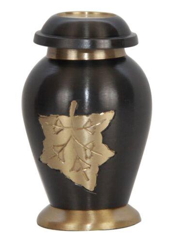 Small Funeral Keepsake Urn Prairie Wheat Keepsake Cremation Urn for Ashes