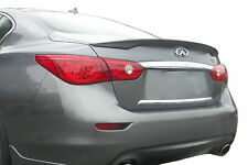 PAINTED ALL COLORS - SPOILER FOR AN INFINITI Q50 FACTORY STYLE 2014-2017