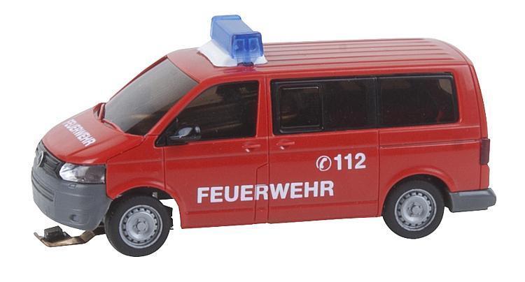 Faller 161563 HO car system Vw T5 bombero (Wiking)  NUEVO EN EMB. orig.