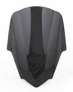 Pare-brise-Bulle-WindScreen-Pour-Yamaha-FZ1S-2006-2011-2009-2010-Black