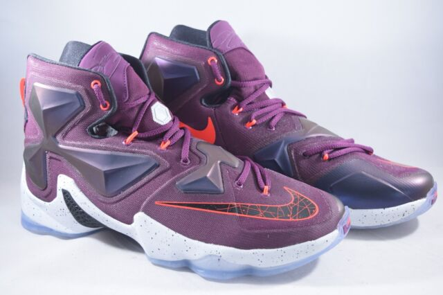 reputable site 7558c dfc1b Nike Lebron XIII 13 Written In The Stars Basketball Shoes 807219-500 Purple